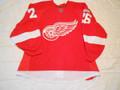Detroit Red Wings 2011-12 Red Jiri Hudler Repairs Lokomotiv Patch!!
