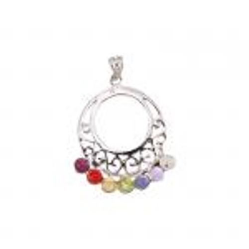 Chakra Ring Pendant