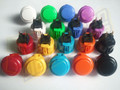 Sanwa Denshi OBSF-24 Solid Colour Snap-In Pushbutton