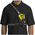 Chestpak Black1-A ZZ3057 Carry Strap for Two Way Radios