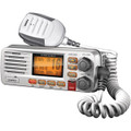 FIXED MOUNT VHF/2-WAY MARINE RADIO (WHITE)