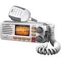 FIXED MOUNT VHF/2-WAY MARINE RADIO (WHITE)