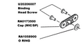 Vertex VX-351 Accessory Cap Kit