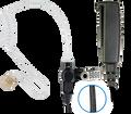 Pryme SPM-2300 Braided Fiber 2 Wire Surveillance Kit