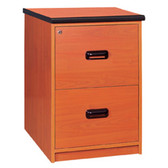 Euroline 2 Drawer Filing Cabinet
