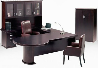 Boston Executive Desk Full Set