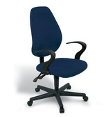 Programmers High Back Typist Chair With Arms