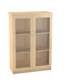 Impact Systems  Cabinet With Glass Doors