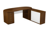 Ohio Main Desk Unit With Credenza