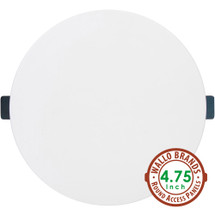 Wallo APR-0501 Round Access Panel, 4.75-Inch Speaker Hole Cover