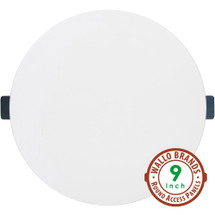 Wallo APR-0901 Round Access Panel, 9-Inch Speaker Hole Cover