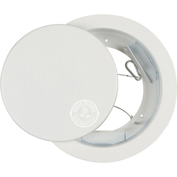 """Wallo APR-M150PF 6"""" Diameter Metal Ceiling Circular Round Access Panel with PICTURE FRAME RIM"""