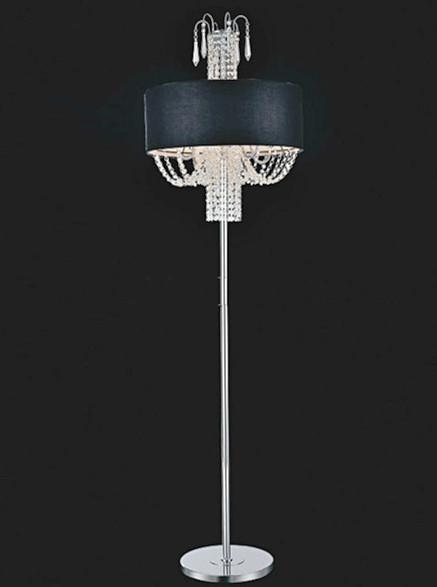 Modern Contemporary Crystal Floor Lamp Cf58801 Montreal