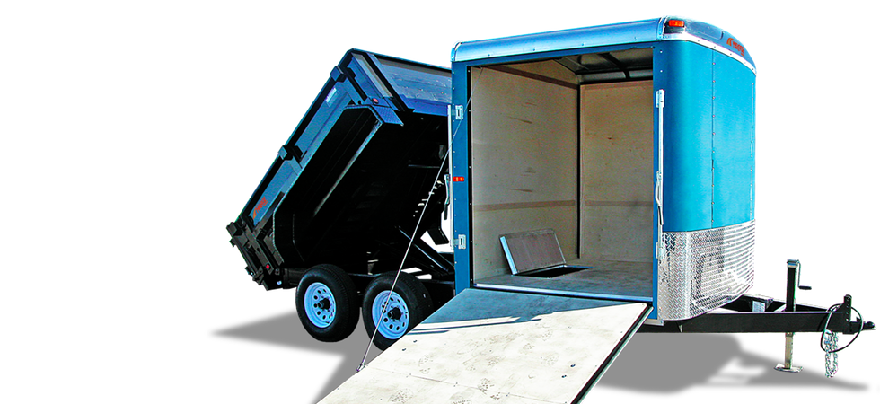 Customize Your Mirage Cargo Trailer