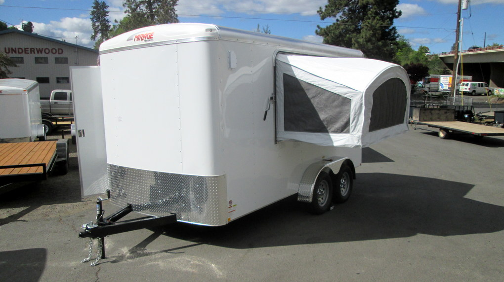 Custom Mirage Xcel Cargo Trailers