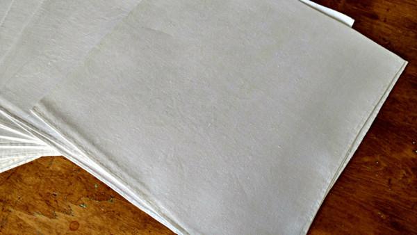 Victorian Edwardian Napkins 7 Vintage Large Linen Dinner Size