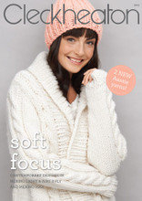 Soft Focus - Cleckheaton Knitting  Pattern (3013) front cover