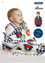 Seaside Tots - Patons Panda Knitting Pattern (105) front page