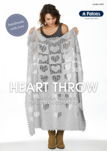 Heart Throw - Patons Knitting Pattern (0039) front page
