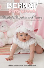 Blankets, Bunnies and Bears - Bernat Knitting Pattern (530209) Cover