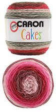Bernat Caron Cakes Yarn - Red Velvet (17005)