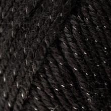 Caron Simply Soft Party Yarn - Black Sparkle