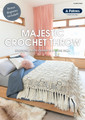 Majestic Crochet Throw - Patons Knitting Pattern (front)