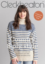 Country 8 ply style - Cleckheaton Knitting Pattern (front cover)