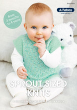 Sprout Sized Knits - Patons Knitting Pattern (front page)