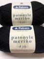 Patons Patonyle Merino 4 Ply Wool - Black (1001)