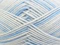 Shepherd Baby Wool Merino 4 Ply Wool  - Cutie Blue Print (2973)