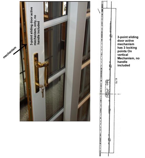 3 Point ACTIVE Sliding Door Mechanism 2174146