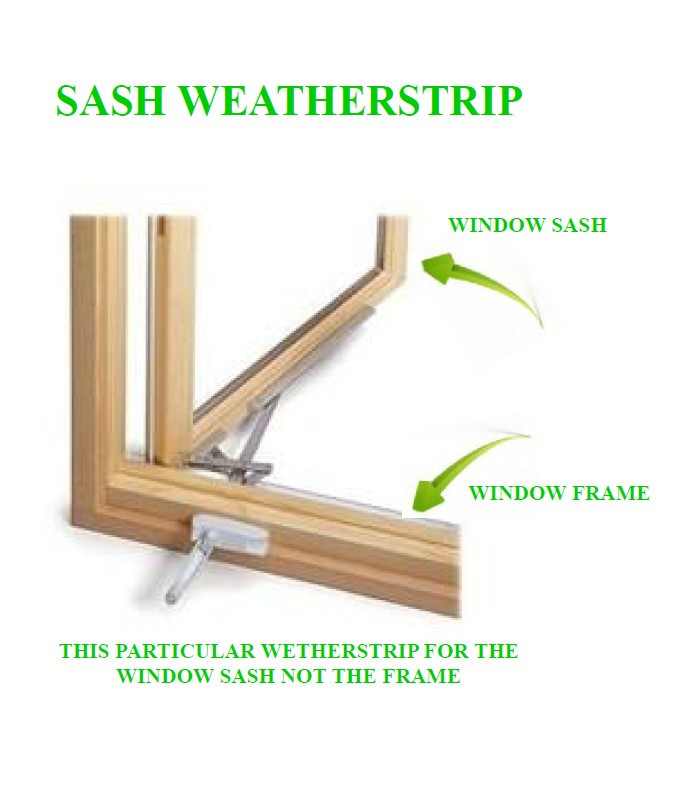 weather stripping casement windows hinged casement sash weather strip june 2005 present2168007 image 72 pieces