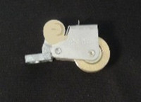 Roller Beige: Set of 2 screen rollers for extruded screen (1) SCPRADJLH2 & (1) SCPRADJRH2
