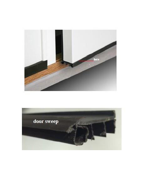 48 brown door bottom weather strip 2148771 replacement parts. Black Bedroom Furniture Sets. Home Design Ideas