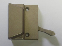 Lincoln gold tone sash lock (truth brand) with screws 19873 for units through 11/9/98