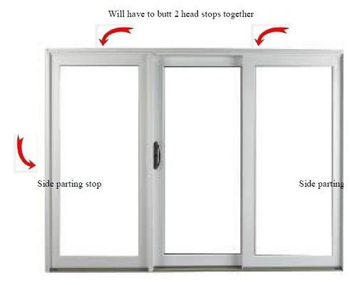 Semco Sliding door weather strip kit 1981-1996 for 9ft and wider doors  sc 1 st  GoWindowGo Window Replacement Parts Homepage & Sliding door weather strip kit 1996 or older