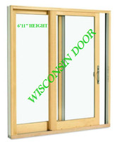 2-PANEL 6'11 ROUGH OPENING HEIGHT (FRENCH STYLE) SLIDING DOOR / LOW-E 270 GLASS