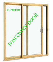 2-PANEL 6'11 ROUGH OPENING HEIGHT (STANDARD STYLE) SLIDING DOOR / LOW-E 270 GLASS