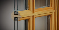 "Lincoln primed wood 2007 version sash only with 1 1/4"" TDL insulated glass, primed interior , and preserve glass"