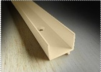 "weatherstrip TAN  3-PACK: quantity of (3) 98-3/8"" ' pieces of Park-Vue Tan screen track VISCS3104"