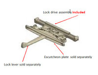 Windsor Pinnacle casement lock drive assembly 553107  with (2) 550261 screws September 07 to present