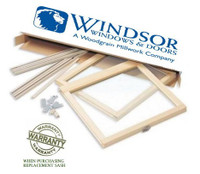 "Windsor Revive sash kit to replace  Double Hung ""WINDSOR SERIES"" old style sash"