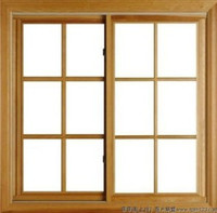 """Windsor  Pinnacle DOUBLE Glider  """"RECTANGULAR STYLE"""" wood grilles"""