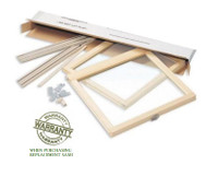 LINCOLN REPLACEMENT SASH KITS WITH 7/8'' SIMULATED DIVIDED LIGHT / PROFILED INTERIOR BAR / MILL FINISH INTERIOR BAR / OPTION FOR EXISTING LINCOLN WINDOWS (1980 to 2004)
