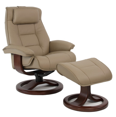 Mustang Recliner from Fjords Hjellegjerde Nordic Line Leather