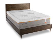 Tempur Contour Supreme Mattress in a platform bed