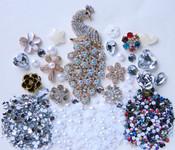 DIY Bling Bling Phone Case Flatback Cabochons Kawaii Deco Kit  / Set  Z368 ---  lovekittybling
