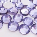 Dark Lavender -- Glass Rhinestone -- 1440 pcs / Pack Flatback Round High Quality --- lovekitty