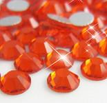Orange -- Glass Rhinestone -- 1440 pcs / Pack Flatback Round High Quality --- lovekitty